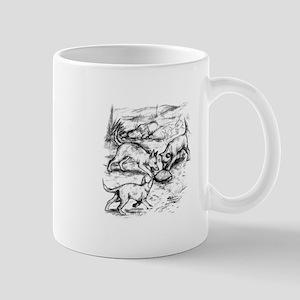 Coyote Pups Mug