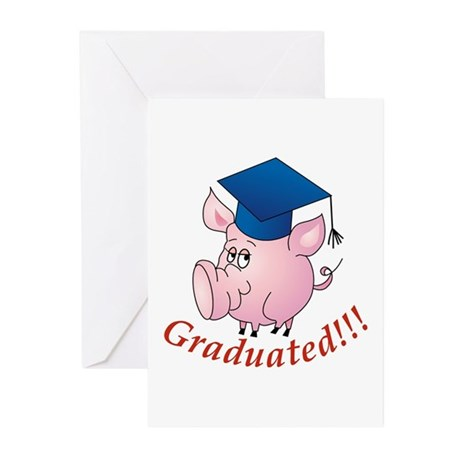 Graduated! Greeting Cards (Pk of 10)