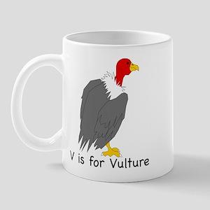 V is for Vulture Mug