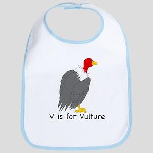 V is for Vulture Bib