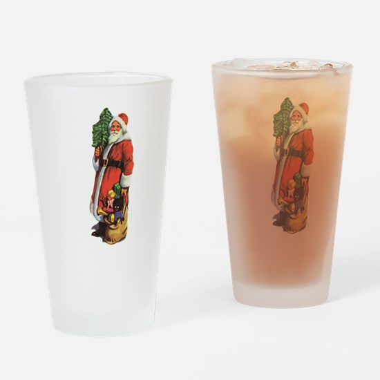 Old St. Nick Drinking Glass