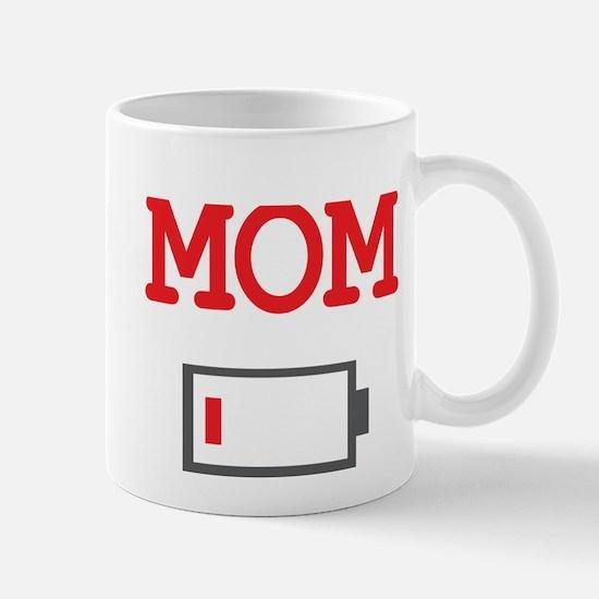 Mom Low Battery Mugs