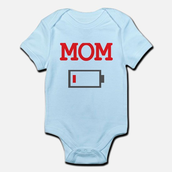 Mom Low Battery Body Suit
