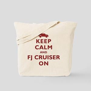 Keep Calm and FJ Cruiser On Tote Bag