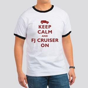 Keep Calm and FJ Cruiser On Ringer T
