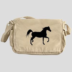 Arabian Horse Silhouette Messenger Bag