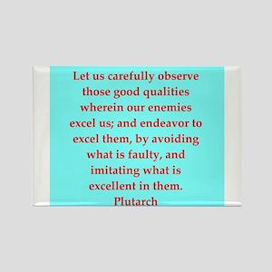 Plutarch's wisdom Rectangle Magnet