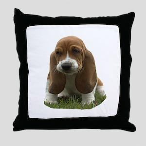 Bassett Throw Pillow