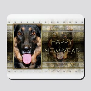 New Year - Golden Elegance - Shepherd Mousepad