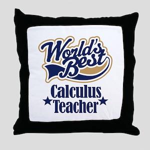 Calculus Teacher Gift Throw Pillow