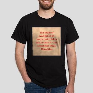 Heraclitus Dark T-Shirt