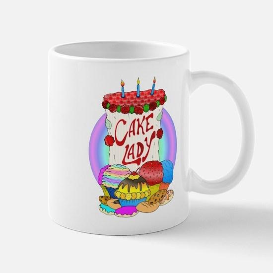 Cake Lady Baked Goods Mug