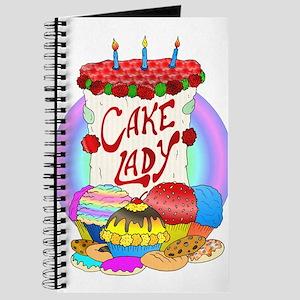 Cake Lady Baked Goods Journal