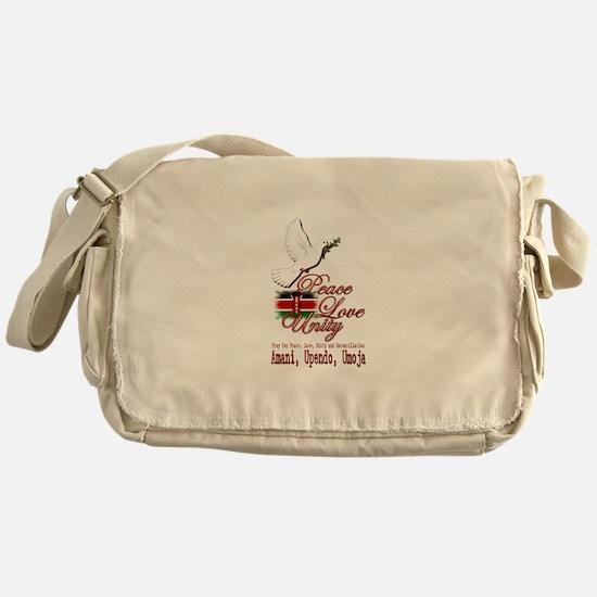 Pray for Kenya - Messenger Bag