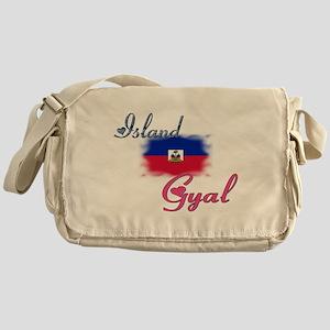 Island Gyal - Haiti Messenger Bag