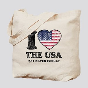 I Love the USA Tote Bag