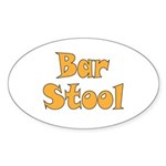 Bar Stool Sticker (Oval 50 pk)