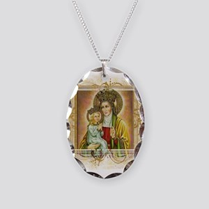 St. Anne Necklace Oval Charm