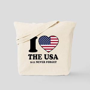 USA Love Tote Bag