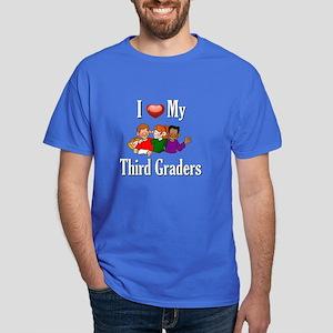 I Love My Third Graders Dark T-Shirt