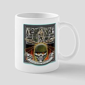 Army National Guard Skull and Mug