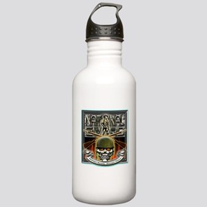 Army National Guard Skull and Stainless Water Bott