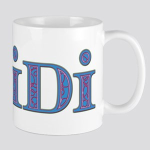 Heidi Blue Glass Mug