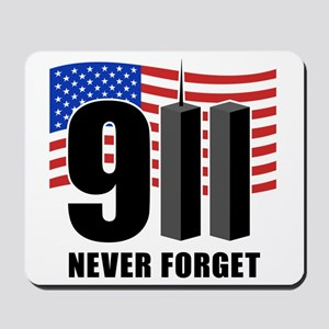9-11 Never Forget Mousepad