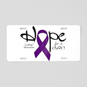 Hope - Lupus Aluminum License Plate