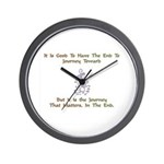 The Journey That Matters Gift Wall Clock