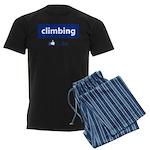Like Climbing Men's Dark Pajamas