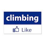 Like Climbing 20x12 Wall Decal