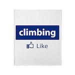 Like Climbing Throw Blanket