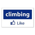 Like Climbing Sticker (Rectangle 10 pk)