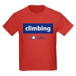 Like Climbing Kids Dark T-Shirt