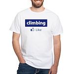 Like Climbing White T-Shirt