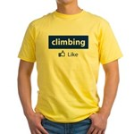 Like Climbing Yellow T-Shirt