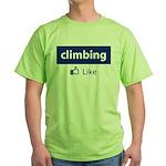 Like Climbing Green T-Shirt