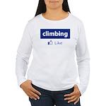 Like Climbing Women's Long Sleeve T-Shirt