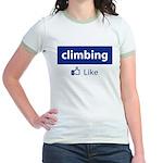 Like Climbing Jr. Ringer T-Shirt
