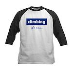 Like Climbing Kids Baseball Jersey