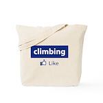 Like Climbing Tote Bag
