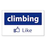 Like Climbing Sticker (Rectangle)