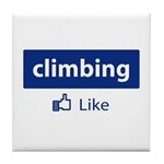 Like Climbing Tile Coaster