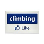 Like Climbing Rectangle Magnet (10 pack)