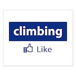 Like Climbing Small Poster