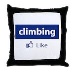 Like Climbing Throw Pillow