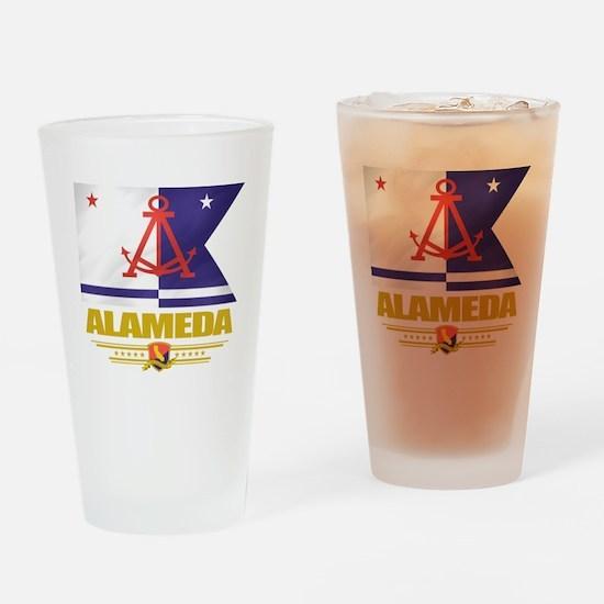 Alameda Pride Drinking Glass
