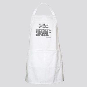 The Rules of Writing Apron