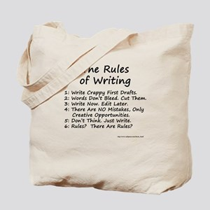 The Rules of Writing Tote Bag